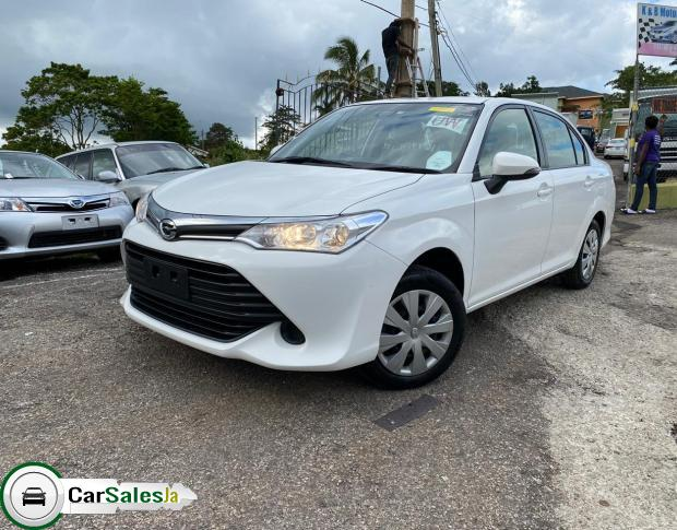 Cars for sale in Jamaica, Toyota AXIO Car for sale in Jamaica