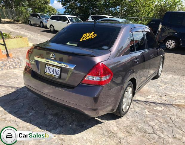 Cars for sale in Jamaica, Nissan Tiida Car for sale in Jamaica