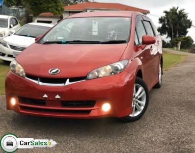Cars for sale in Jamaica, Toyota Wish Car for sale in Jamaica